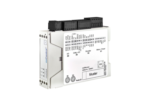 miControl MCDSA-S4X stepmotorstyring