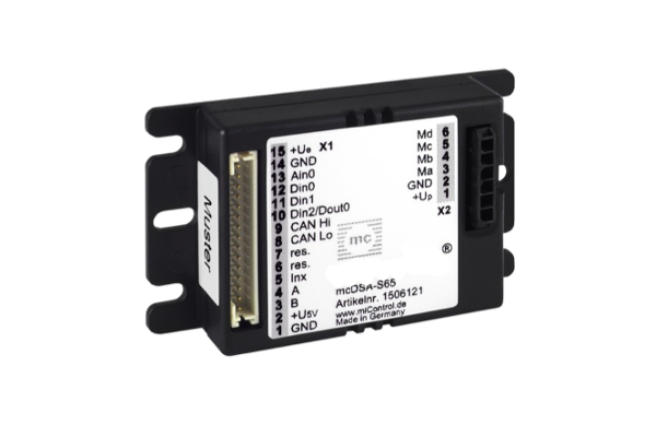 miControl MCDSA-S6X stepmotorstyring